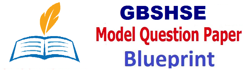 Goa Board 12th Mock Test Paper 2021