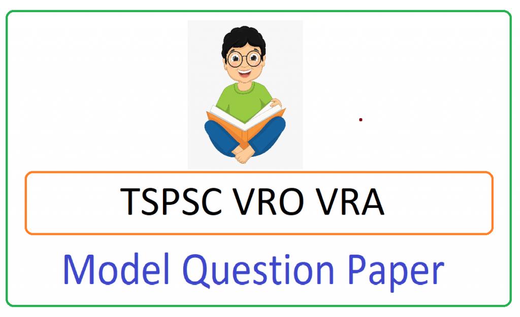 Telangana VRO VRA Model Paper 2021