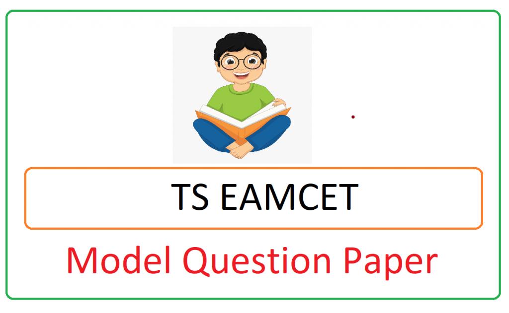 Telangana EAMCET Model Paper 2021